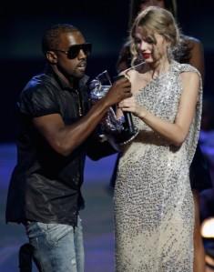 Kanye West Mugs Taylor Swift