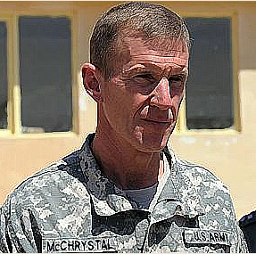 General Stanley McChrystal Commander, International Security Assistance Force (ISAF) and Commander, U.S. Forces Afghanistan (USFOR-A)