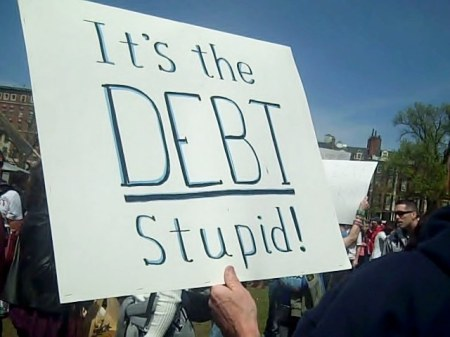 It's the Debt stupid.